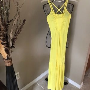 Yellow dress in fair condition
